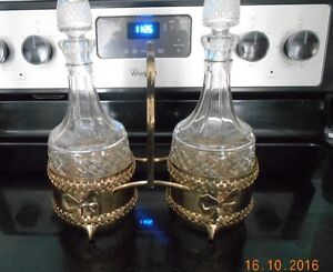 Copper Crystal Decanter Set, Music Boxes, Candlestick , Etc Sarnia Sarnia Area image 1