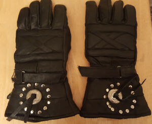 mens XL insulated riding gloves