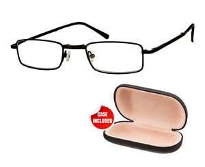 new fold up reading glasses compact sprung arm black frame