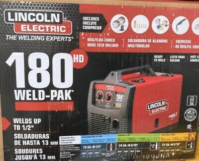 Lincoln Electric 180 Pro-mig Migflux-cored Wire Feed Welder New K2481