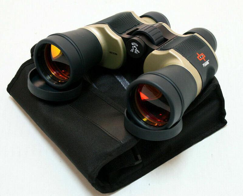 20x60 HD Outdoor Bronze Binoculars Hunting Outdoor Camping Powerview Zoom + Case