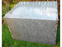 *** FREE TO COLLECT *** - Scrap metal. Old metal coal bunker. Sides all intact. Base has rusted away
