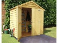Garden Shed 6X4 AVAILABLE
