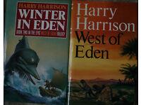 Harry Harrison hardback books