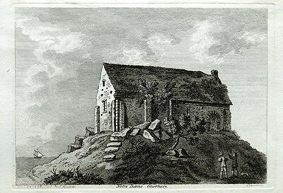 GUERSNSEY ST APPOLINE CHAPEL ST SAVIOURS  Hooper Original  Antique Print 1786