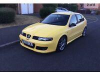 Yellow Seat Leon Cupra FR+ Mk1 2005-06(55 Plate) 1.9Tdi PD150 Bulletproof Engine