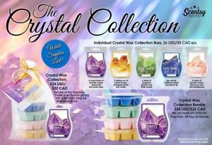 Scentsy's new Crystal Collection!