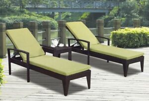 Chaise lounger set brand new