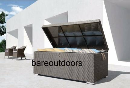 Outdoor Wicker Storage Box - Large Keilor Park Brimbank Area Preview