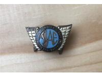 Vintage enamel badge - Aircraft Engineers
