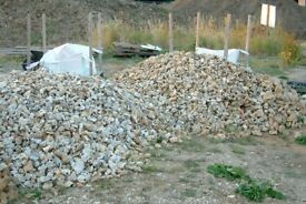 1 to 200 Tonnes Oxfordshire Field Flint Stones, Naturally Knapped