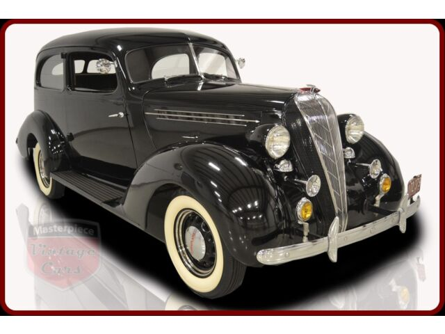 Other Makes Terraplane 1936 Hudson Terraplane 2 Door Brougham 3.5 Liter Inline 6 3 Speedl floor shifter