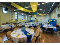 Modern and flexible venue, conference facilities, meeting rooms, large hall and kitchen facilities.