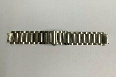 Bulova 96D18 Men's Watch Parts Silver-Tone Bracelet Replacement Watch Band