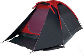 Pro Action 4 Man Dome Tent- Waterproof, Quick Erect. 4 person dome tent.