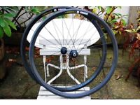 Reynolds Attack Carbon Clincher Wheels Wheelset Shimano 11 Speed Very Good Condition