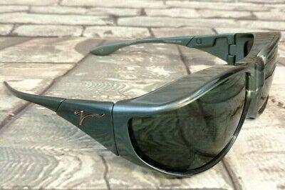 Polarized VISTANA Sunglasses W304G Large Wear Over Glasses Grey Steel (Vistana Sunglasses)