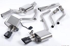 Audi S4 b8 milltek valvesonic exhaust system
