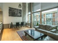 STUNNING - double ceiling - *WAREHOUSE* 2 BEDROOM - MEZZANNINE - REGENTS CANAL