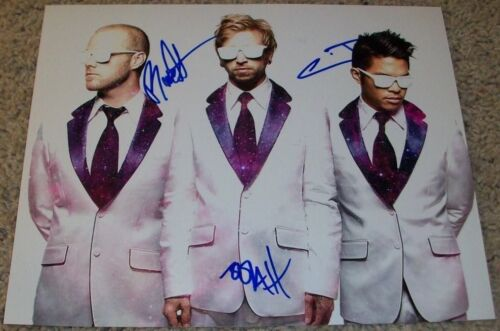 THE GLITCH MOB BAND SIGNED AUTOGRAPH 8x10 PHOTO D w/PROOF BY ALL 3