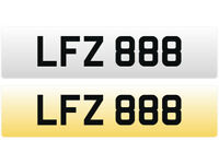 LFZ 888 - Cherished Personal Registration Number Plate - £995 Including all DVLA Transfer Fees