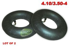 TWO HEAVY DUTY INNER TUBES 4.10/3.50-4, 4.10X3.50-4, 4.10-4, MOBILITY SCOOTERS