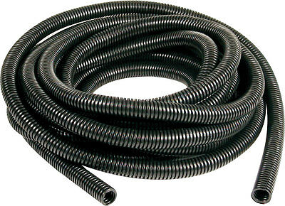 Black Engine Dressing Conduit 10mm ID, SPLIT LOOM, WIRING CONDUIT, CABLE TIDY 1M