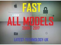 MacBook Pro Air Retina iMac Mac Pro Unlock EFI Pin Password iCloud Reset Repair FAST Service London