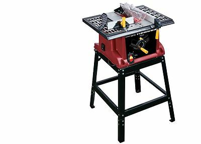 15 Amp Benchtop Table Saw 10 in Top Stand Rip Crosscut Saw Wood Dust Garage