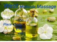 West Midlands body massage