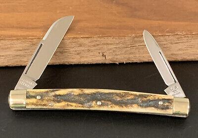 Vintage Solingen Germany Hen and Rooster Gutmann Stag Half Congress Pocket Knife