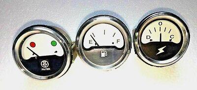 Air Cleaner Amp Fuel Gauge Set For Ih International 766 966 1066 1466 1468 4386