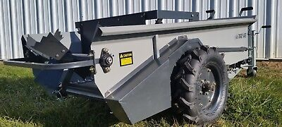 Trac Vac 29cf Compact Manure Spreader Ground Driven Horse Goat Mini Self