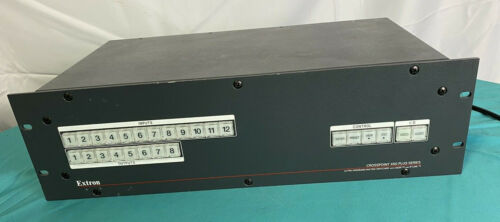 Extron CrossPoint 450 Plus Series Wideband Matrix Switcher