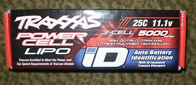 Traxxas 11 1V 3 Cell 5000Mah 25C Lithium Polymer Lipo Battery 2872X W Id New Nib