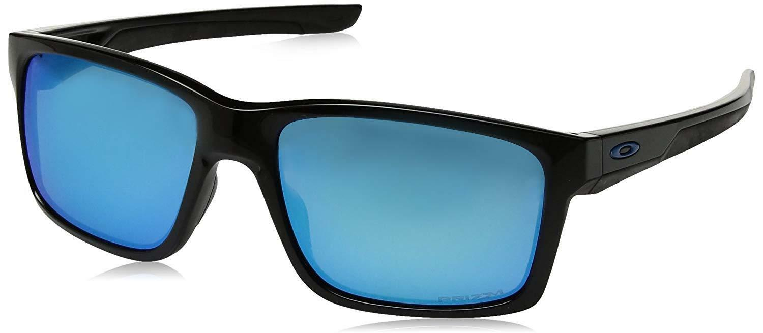ea08580b3b7 Details about Oakley Mainlink OO9264-30 Sunglasses Polished Black Prizm  Sapphire Lens 9264 30