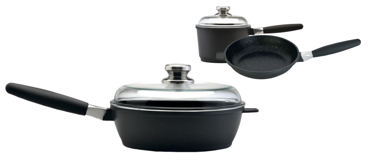 Amazon Eurocast Professional Cookware Starter Set With 2 Gla