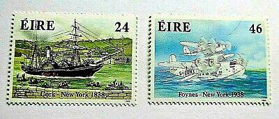 IRELAND 1988 SG 696/697  TRANSATLANTIC TRANSPORT MNH UM