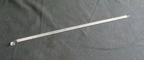 Solid Glass Button Type Ground Stirring Shaft, 486mm x 10mm, Chip, 8068-03