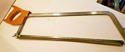 22 Inch Blade Disston U.s.a Meat Butcher Bone Saw With Guard