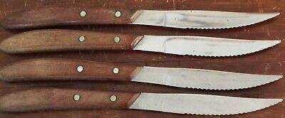 Russell Stainless Steel Steak Knife Lot of 4 Russell Steak