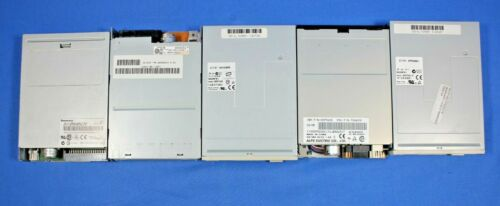 """LOT OF 5 MIXED BRAND 3.5"""" 1.44MB Internal Floppy Disk Drive"""