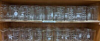 600ml Borosilicate Glass Beakers Research Grade Class A