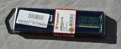 RAM 1GB DDR2 PC2-6400 DIMM 240pin 800 MHz non ECC memoria Transcend