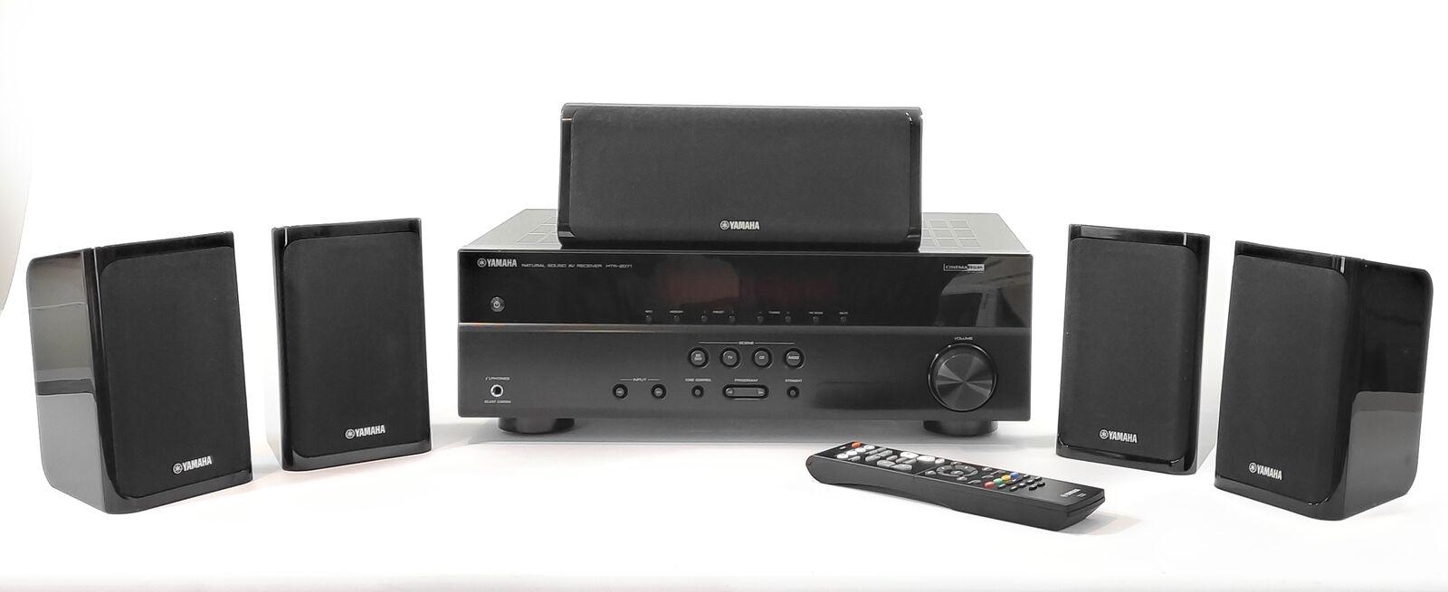 Yamaha YHT-1840 5.1 Heimkino - System Receiver HDMI-Anschluss schwarz