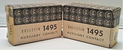 NEW IN BOX ALLEN BRADLEY AUXILIARY CONTACT 1495-N8 SERIES A - TYPE 3