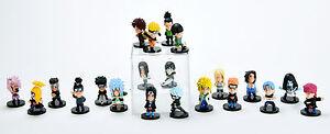 Naruto Shippuden Pedia Heroes 21 pcs Toy Mini Figure Doll 2 All Characters New