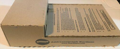 NEW Addressograph Bartizan Manual Credit Card Imprint Machine Model 4850 NEW