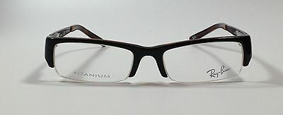 Ray-Ban Eyeglasses RB 5124  BLACK OVER RED HAVANA