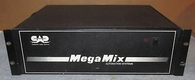 Vtg CAD Mega-Mix MEGAMIX Automation Systems Mixer/Midi/Rack Mount As-Is J282